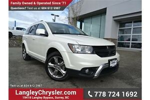 2016 Dodge Journey Crossroad ACCIDENT FREE w/ NAVIGATION & SU...
