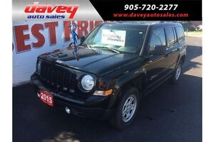2015 Jeep Patriot Sport/North 4X4, CRUISE CONTROL, MP3 INPUT