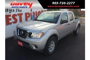 2016 Nissan Frontier SV 4X4, CREW CAB, BLUETOOTH