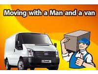 Cheap Man and van hire London house removals in Ilford, Barking, Redbridge, Man with Van London