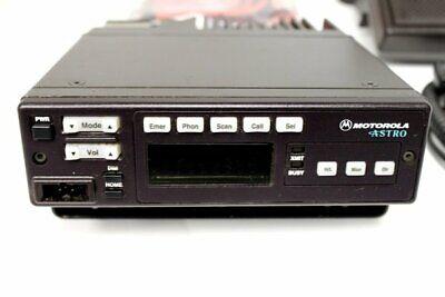 Motorola Astro Spectra Uhf P25 Digital Widenarrow Trunking Radio 450-482mhz Ham