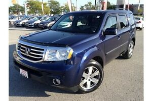 2013 HONDA PILOT TOURING AWD - LEATHER - GPS NAV - REAR DVD
