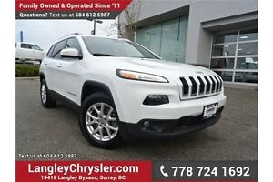 2015 Jeep Cherokee Sport W/ 4X4, NAVIGATION & HEATED SEATS