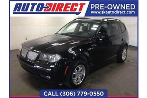 2007 BMW X3 * Sunroof, Leather*