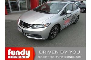 2013 Honda Civic EX HEATED SEATS - SUNROOF - STREAMING AUDIO!