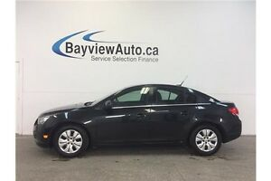 2014 Chevrolet CRUZE LT- TURBO! AUTO! REMOTE START! A/C! CRUISE!