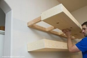Handcrafted Floating Shelves London Ontario image 3