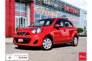 2015 Nissan Micra SV GREAT ON GAS AND PRICED TO SAVE!!!
