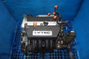 JDM Honda CRV 2.4L DOHC i-Vtec K24A Complete Engine 2002-2006