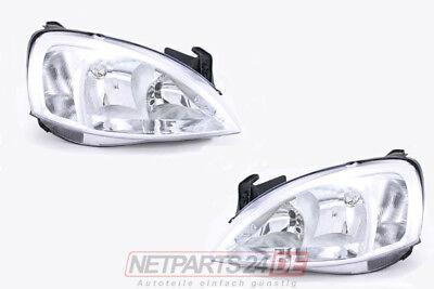 Scheinwerfer Satz H7/H7 System Valeo links & rechts Opel Corsa C -03 online kaufen