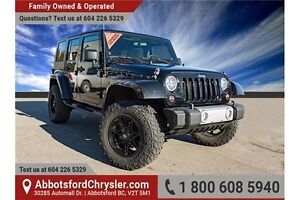 2010 Jeep Wrangler Unlimited Sahara ACCIDENT FREE!