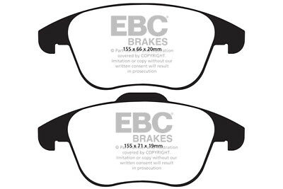 EBC Ultimax Front Brake Pads for Audi Q3 2.0 TD (177 BHP) (2015 on)