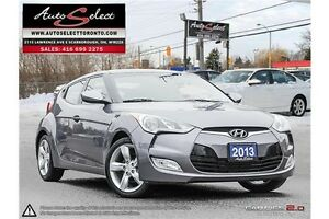 2013 Hyundai Veloster ONLY 86K! **6 SPEED** CLN CARPROOF **BA...