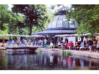 Chefs wanted Pavillion Cafe and Bakery in Hackney. Daytimes only, Excellent rates of pay.