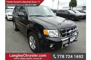 2012 Ford Escape Limited w/ Leather Interior & Sunroof