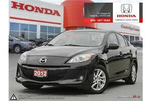 2012 Mazda 3 GS-SKY LEATHER INTERIOR | BLUETOOTH | POWER SUNROOF Cambridge Kitchener Area image 1