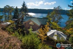 3.41 acre oceanfront acres on South Pender Island!
