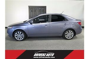 2010 Kia Forte 2.4L SX SUNROOF, LEATHER, HEATED SEATS