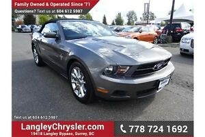 2010 Ford Mustang V6 w/LOW KMS! Leather Int & Heated Seats