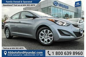 2016 Hyundai Elantra GL ACCIDENT FREE & OWNED LOCALLY