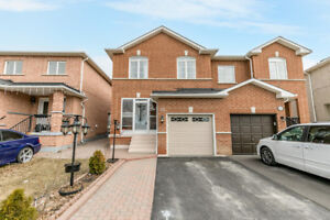 Fabulous Freehold Semi-Detached, High Demand Location Spacious S