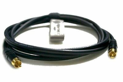 Pro Instrument Interconnect Lead RCA to RCA Phono Unbalanced Van Damme Cable