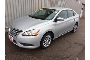 2013 Nissan Sentra 1.8 S GREAT COMPACT SEDAN WITH SOLID FUEL...