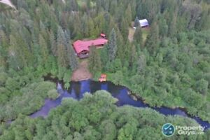 Renovated, 3 bed, 2.5 bath log home 18 acres Fruitvale BC 198423