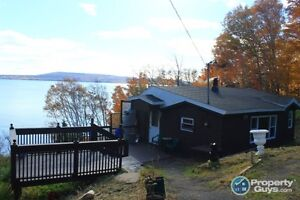 Waterfront home with magnificent view of Bras d'Or Lake