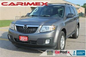 2011 Mazda Tribute GX I4 GX | CERTIFIED + E-Tested