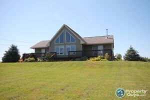 Westville - 2 bed chalet style home on 2 acres. PRIVACY!