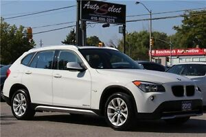 2012 BMW X1 xDrive28i ONLY 76K! **CLEAN CARPROOF** PREMIUM PKG