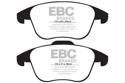 EBC Greenstuff Front Brake Pads for Audi Q3 1.4 Turbo (150 BHP) (2015 on)