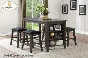 Dining table with Storage and 4 Stools on Sale (BD-2376)