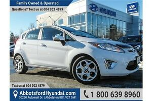 2011 Ford Fiesta SES ONE OWNER & ACCIDENT FREE