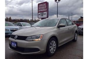 2014 Volkswagen Jetta Trendline+ HEATED SEATS!! CLEAN CARPROOF!!