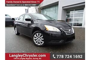 2015 Nissan Sentra 1.8 S ACCIDENT FREE!