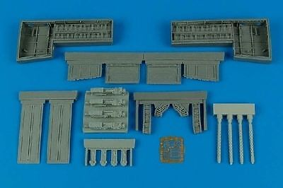 Aires 2097 1/32 P51B/C Mustang Gun Bay For Trumpeter