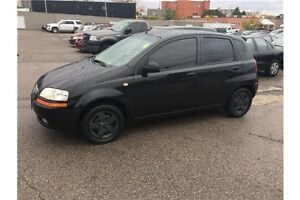 2005 Chevrolet Aveo 5 LT LT HATCHBACK SOLD AS IS / AS TRADED London Ontario image 2