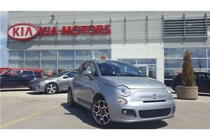 2015 Fiat 500 Sport Leather package!