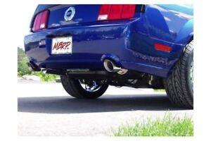 MBRP Axle-Back 2.5pcs Dual Split Mustang GT V8 05-10 Aluminisé