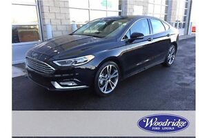 2017 Ford Fusion Titanium AWD, LEATHER, REMOTE START, BACKUP CAM