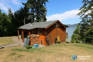 Extremely rare OCEANFRONT! Only 35 minutes from Victoria