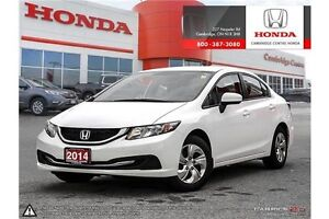 2014 Honda Civic LX BLUETOOTH | HEATED SEATS | CRUISE CONTROL