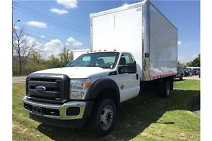 2015 Ford F-550 XL CAB WITH CHASSIS !!! DOCK HEIGHT  !!!!