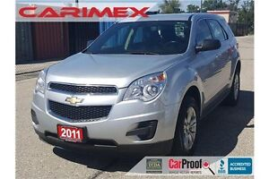 2011 Chevrolet Equinox LS LS | Bluetooth | CERTIFIED + E-Tested