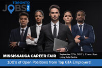 Mississauga Career Fair - 1000s of Jobs Available!!