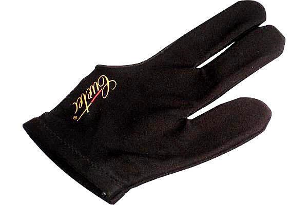 Billard Handschuh Zubehör 3 Finger Handschuh Cuetec Universal schwarz Elastan