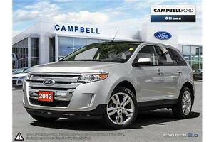 2013 Ford Edge SEL LEATHER-POWER ROOF-NAV-AWD