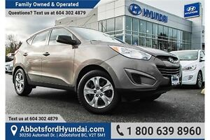 2013 Hyundai Tucson L LOCALLY OWNED & MANUAL TRANSMISSION